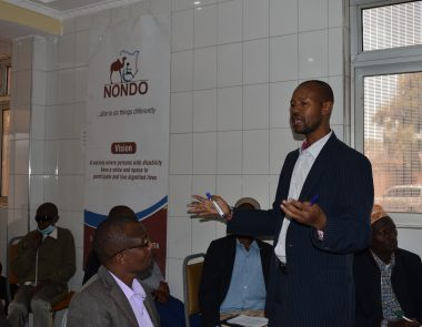 NONDO HOLDS THE FIRST DISABILITY FORUM IN MARSABIT COUNTY